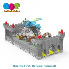 Dragon Castle Inflatable Playground