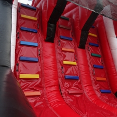 Mountain Race Inflatable Obstacle Course