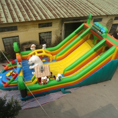 Jungle Inflatable Playground