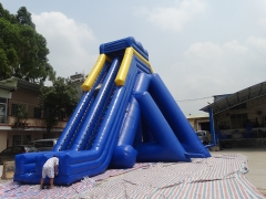 33FT Inflatable Water Slide With Pool