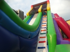 Wet & Dry Slide With Cliff Jump