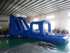 17ft Wave Water Slide With Slip