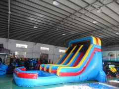 15Ft splash slide
