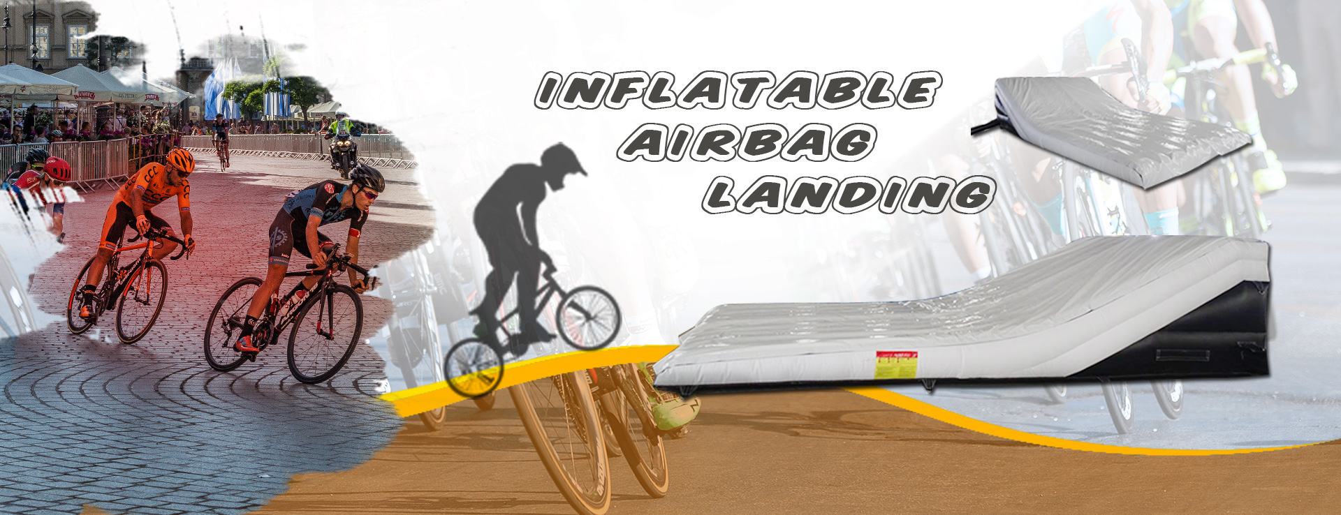 Inflatable Airbag Landing